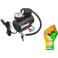 H.R. NAKRANI ENTERPRISES Air Compressor Inflator Pump for car, Bike, tubeless tyre. 12V 300 PSI air Pump