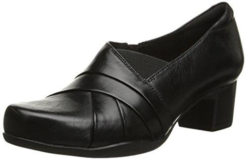 Clarks Rosalyn Adele Black Leather