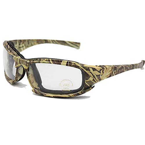Motorrad Brille Militärschutzbrillen Kugelsichere Armee C6 Polarisierte Sonnenbrille 6 Objektiv Jagd Schießen Airsoft Radfahren