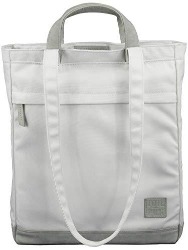 UNR!VALED TOTEPACK Daypack Rucksack Tasche 2 in 1 SAND-BEIGE Handtasche Office-Bag Damen Shopper Umhängetasche Tote-Bag Wickelrucksack A4 Uni Schule