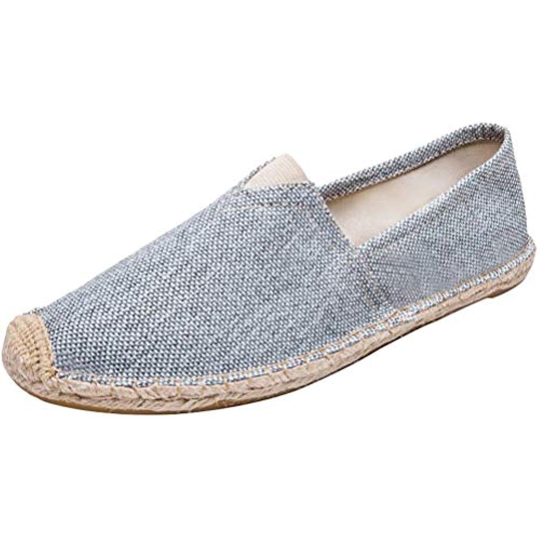 ZHRUI Chaussures de Sport en Toile Respirante Unisexe, 13-2-Gris Espadrilles, Chaussures Plates (coloré : Style 13-2-Gris Unisexe, ... - B07JYSMZPQ - cb4360