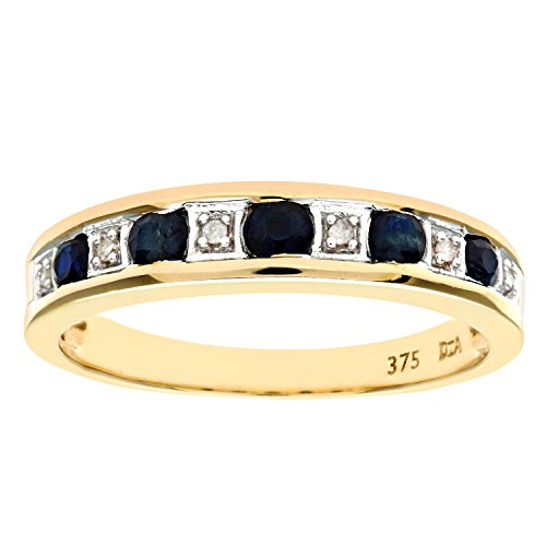 naava-womens-eternity-ring-9-ct-yellow-gold-diamond-and-sapphire-ring-channel-set