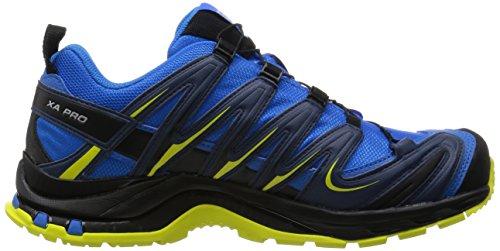 Salomon Xa Pro 3D Gtx, Chaussures de Sport Homme Bleu (Bright Blue/Slateblue/Corona Yellow)