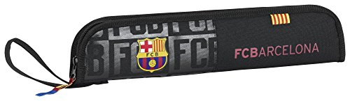 Safta Portaflautas F.C.Barcelona Black Oficial Protector Flauta 370x20x80mm