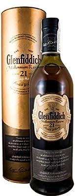 Glenfiddich 21 years Millenium Reserve (old label)