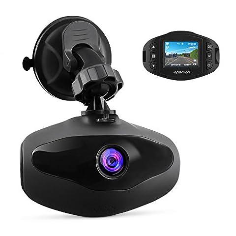 APEMAN Mini caméra de voiture Dash Cam Enregistreur vidéo 1080p