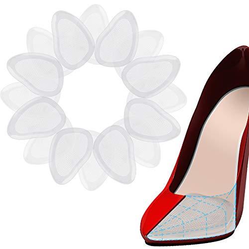 Heqishun Orthopädische Einlegesohlen 8 paar Silikon Ball Fußkissen Einlegesohlen Mittelfußstütze Insert Pad Universal Schuhe Zubehör für hohe Schuhe Sandalen Lederschuh Sportschuhe