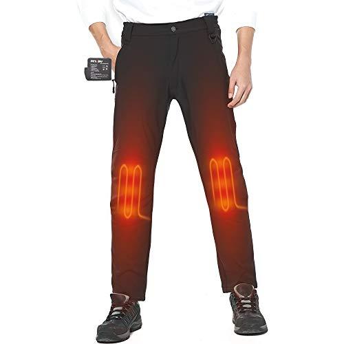 Photo de dewbu-pantalons-chauffante-homme-avec-7-4v-batterie