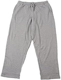 Lange Jogginghose ohne Bündchen von Redfield in grau melange
