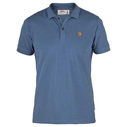 Fjällräven Herren Övik Polo Shirt Poloshirt Navy