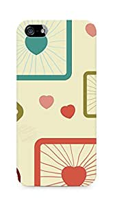 Amez designer printed 3d premium high quality back case cover for Apple iPhone 5s (Cells background shape texture spheres cubes)