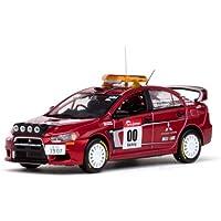 Mitsubishi Lancer Evo X, No.00 seguridad, Rally Japan , 2007, Modelo de Auto, modello completo, Vitesse 1:43