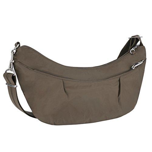 Travelon Damen Classic Light Sling-Style Hobo Reisetasche, mokka, Einheitsgröße