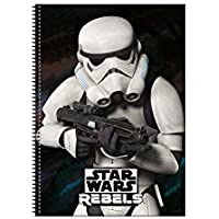 Lucas - Cuaderno Espiral A4 80 h. Star Wars Rebels Soliders