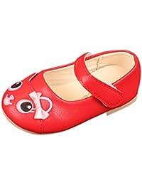 Huhua-Baby Sandal Sandals for Boys, Sandali Bambine, Rosa (Pink), 25 EU