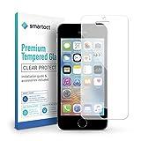 smartect iPhone SE / 5 / 5s / 5c Panzerglas Folie - Displayschutz mit 9H Härte - Blasenfreie Schutzfolie - Anti Fingerprint Panzerglasfolie