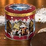 Winteridylle Dose - Mit dieser bezaubernden Haeberlein- Metzger-Dose kehrt Winterstimmung in Ihr Haus!