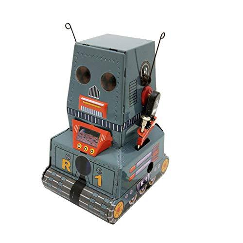 sam Dekompression Creme Duftenden Groß Squishy Spielzeug Squeeze Spielzeug,Weißblech Uhrwerk Kette Spielzeug Fotografie Prop Tank Roboter MS371 ()