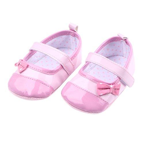 Schuhe Ballerinas Lauflernschuhe Babyschuhe Mädchen Pink Festlich Eozy qFRAzUPwU