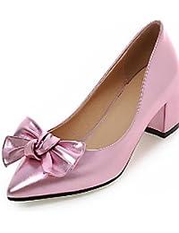 Zq-tac¨®n Chaussures Pour Femmes Robustes Talons Talons-bureau Et Le Travail / Robe / Casual-microfibre-rose / Blanc / Gris / Beige, Beige-us1.5 / Ue31 / Uk0.5 / Cn30, Beige-us1 0,5 / Ue31 / Uk0.5 / Cn30