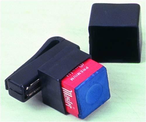 Kreidehalter Magnet mit Clip (ohne Inhalt)