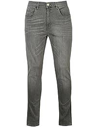 Firetrap Mens Skinny Jeans Tonal Stitching Denim Trousers Casual Pants Bottoms