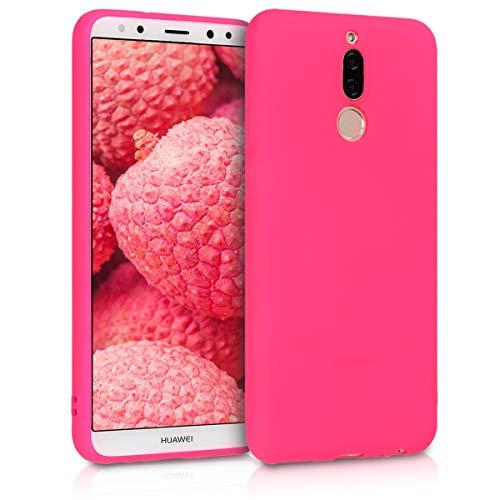 kwmobile Huawei Mate 10 Lite Hülle - Handyhülle für Huawei Mate 10 Lite - Handy Case in Neon Pink