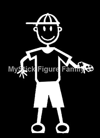 Official My Stick Figure Family Car Window Vinyl Sticker Boy Games Console B6