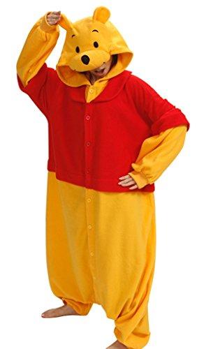 Adult Animal Cosplay Pyjama Kostüm,Winnie -