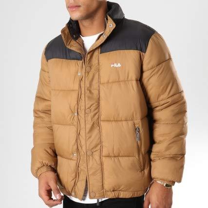 Fila Piumino Men Raith Puff Jacket Cammello 682371