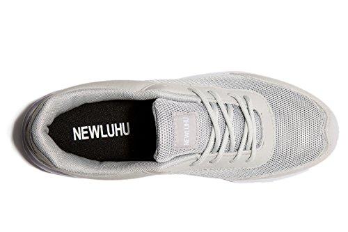 newluhu - A collo basso uomo Grey