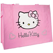 Hello Kitty Pink Large Shopping Tote Bag