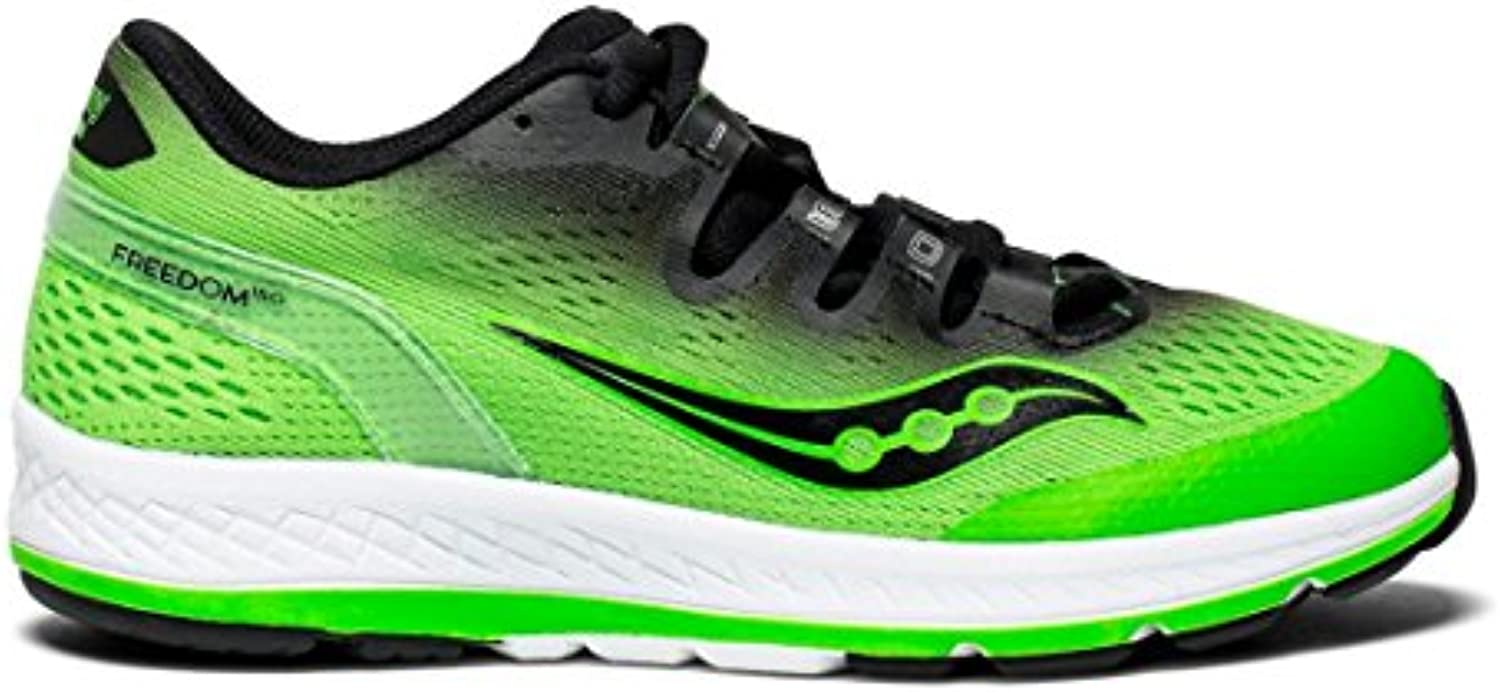 Saucony Basket Freedom ISO Junior, verde nero, nero, nero, 38.5 | Acquisto