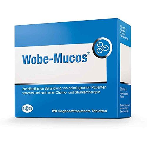 Wobe-Mucos Tabletten, 120 St. magensaftresistente Tabletten