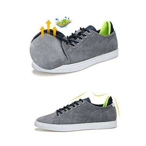 ZXCV Scarpe all'aperto Scarpe da uomo scollatura sportiva scarpe casual Scarpe comode Claret