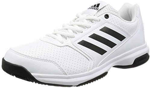 Adidas Adizero Chaussures de Tennis Attack Weiß (ftwr white/core black/ftwr white)