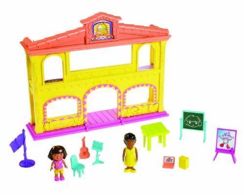Fisher-Price - X3405 - Poupée et Mini-Poupée - L'école de Dora