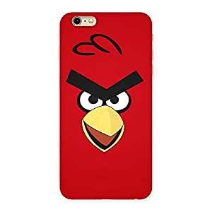 Stylish Red Bird Yellow Beak Back Case Cover for iPhone 6 Plus 6S Plus
