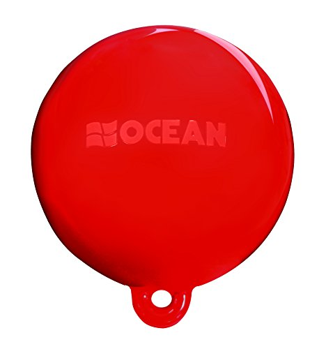 Ocean Fender aufblasbar Wasser Ski Kennzeichnung Boje, 22,9x 20,3cm rot