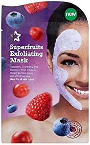 Superdrug S/D Skin Rescue Exfo Superfruits Mask, 15 Pieces