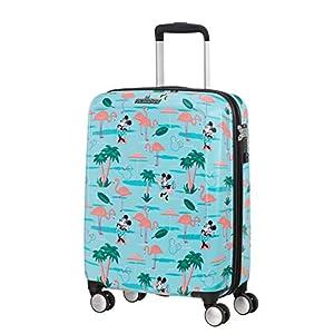 American Tourister Funlight Disney Equipaje de Mano, 55 cm, 36 Liters, Multicolor (Minnie Miami Beach)