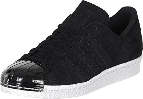 Adidas Superstar 80s Metal Toe Donna Sneaker Nero Schwarz