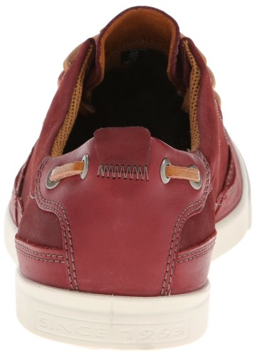 Ecco Collin, Mocassins Homme Rouge (Port Sambal/Basalt57111)
