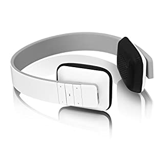 Aluratek Bluetooth Wireless Headphone - White