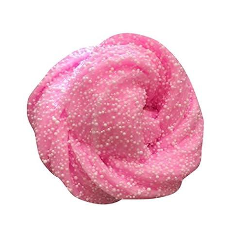DOLDOA Stress Relief Spielzeug,Fluffy Slime Duft Stress Relief Nein Borax Kinder Spielzeug Schlamm Spielzeug