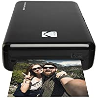 Kodak Instant Mini 2HD Wireless Photo Printer and Mobile with Patented 4pass Printing Technology–Works with iOS and Android–Black