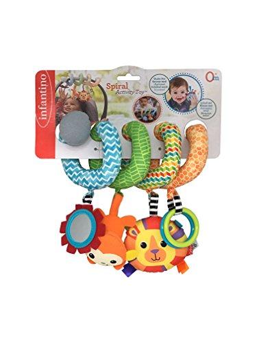 Infantino juguete espiral de actividades