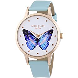 Mike Ellis New York Women's Quartz Watch Paradise SL4-50090 with Leather Strap