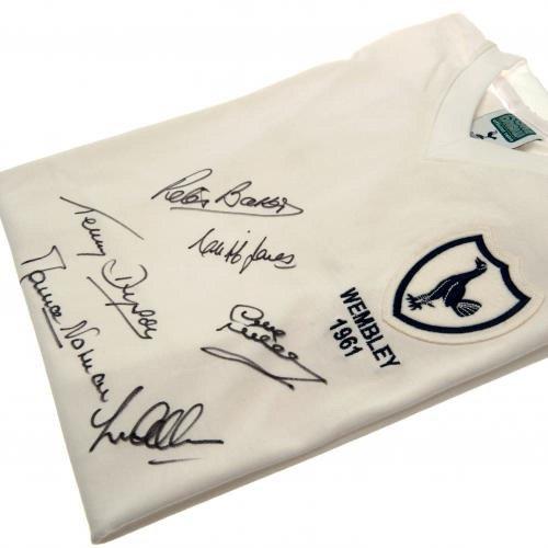 Tottenham Hotspur FC Fußball FA Cup, Finale T-Shirt signiert, ideales Weihnachts-/Geburtstagsgeschenk ideal für Herren und Jungen -
