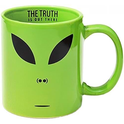 dia del orgullo friki Taza Alien en inglés